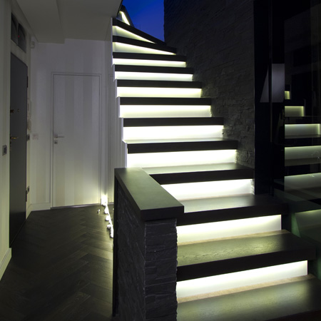 Glowing Staircase Designs from W8DBM Ltd